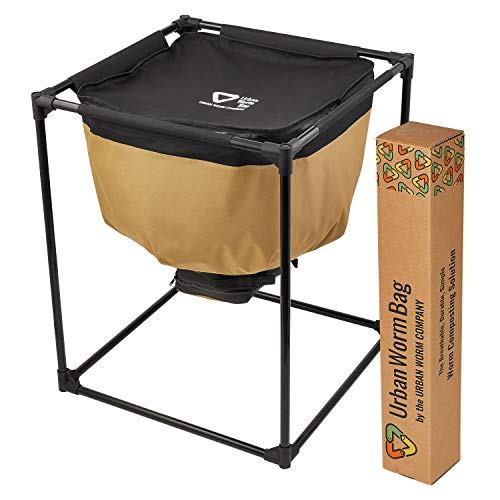 Urban Worm Bag Worm Composting Bin Version 2 - Breathable Worm Farm is Perfect for Recycling Organic Waste in Your Home, School, or Office