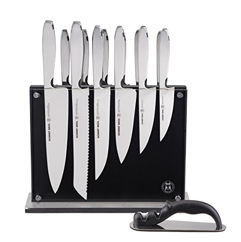 Hudson Home Schmidt Brothers Cutlery,  SSCST15, #9 Steel Cut , 15pc set, Stainless Steel by Hudson Home