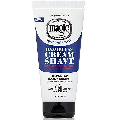 - Magic Razorless Cream Shave Regular Strength 6 Ounce (177ml) (6 Pack)