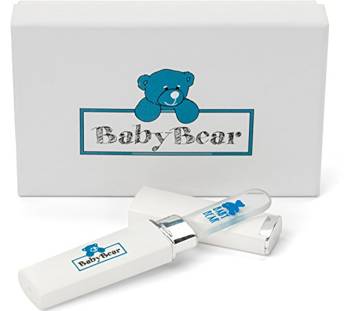Image of the Safest Rated Luxury Baby Nail File w/ Case ~ Infant Nail File ~ Newborn Nail Filer Proven Safer than Baby Nail Buffers and Baby Nail Cutters ~ Perfect Nail File for Infants ~ Baby Nails File Gently