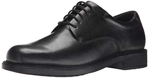 Rockport Mens Margin Oxford Black 12 Xw Us
