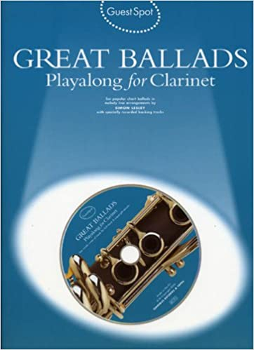 Book Guest Spot: Great Ballads Playalong for Clarinet