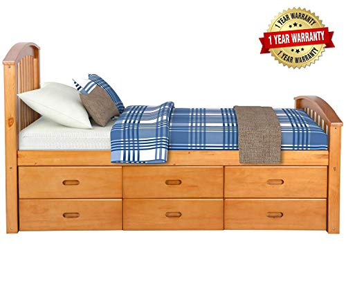 Cakao Bookcase Storage Bed - 3