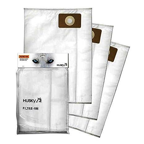 Amazon.com: Husky Storm alta eficiencia bolsas de filtro de ...