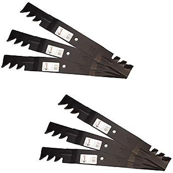 "396-712 6 Pack Oregon G6 Gator Blades 60/"" 61/"" Bush hog Grasshopper Country Clipp"