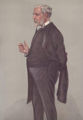 DIPLOMATS: LASCELLES Ambassador.Berlin. Vanity Fair Spy cartoon 1902