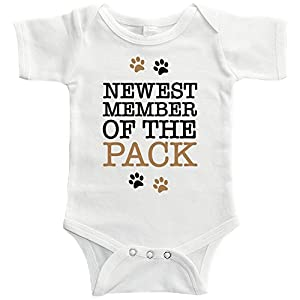 Starlight Baby Newest Member Of The Pack Bodysuit (0-3 months)