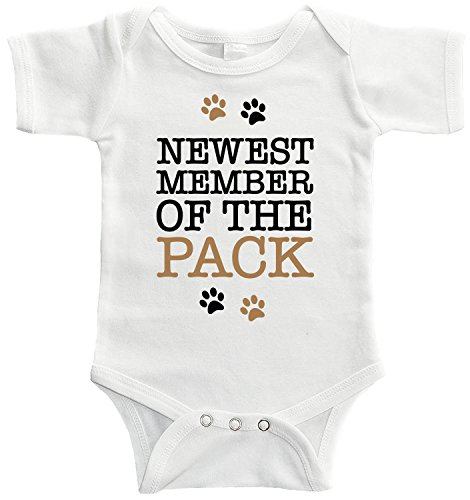 Starlight Baby Newest Member Of The Pack Bodysuit (6-12 months) -