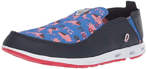 Columbia Men's Bahama Vent PFG Shoe (USA)  , stormy blue, intense red,10 Regular US from Columbia