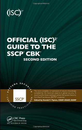 Download Official (ISC)2 Guide to the SSCP CBK, Second Edition ((ISC)2 Press) Pdf