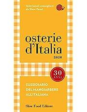 Osterie d'Italia 2020. Sussidiario del mangiarbere all'italiana (2020)