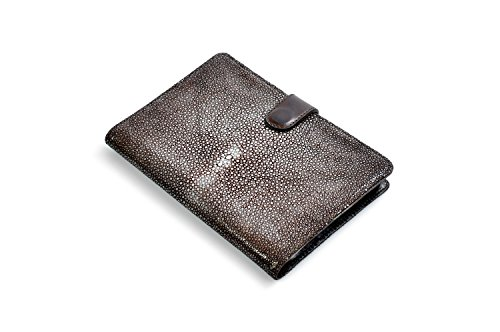 Stingray Padfolio Writing Journal w/Tablet Sleeve (Walnut) by Borlino