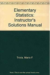 Elementary statistics annotated instructors edition mario f instructors solutions manual to accompany elementary statistics 9th edition fandeluxe Choice Image