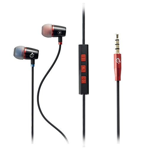 Stereo In-ear Headsets In Ear Headphones Earphones Earbuds With Mic Headphones with Mic Microphone In-line Control In-line Volume for Samsung HTC LG Android Phones Accessories for Smartphone Cellphone Tablets (iOS Version)