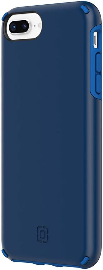 Incipio Duo Case Compatible with iPhone 8 Plus, iPhone 7 Plus & iPhone 6s/6 Plus - Dark Blue/Classic Blue