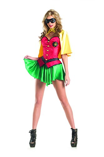 Batman And Robin Couples Costume (Miss Robin Adult Costume - Small/Medium)