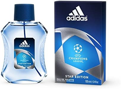 Avispón Delicioso Alta exposición  UEFA Champions League Star Edition By Adidas For Men - Eau De Toilette,  100Ml: Buy Online at Best Price in UAE - Amazon.ae