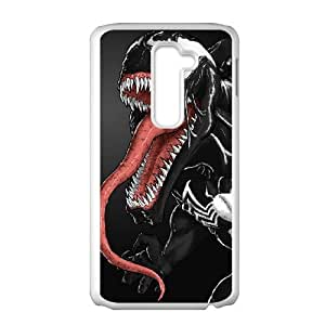 LG G2 Cell Phone Case White venom rqki