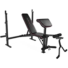 Cap Barbell Strength Olympic Weight Bench with Preacher Pad & Leg Attachment