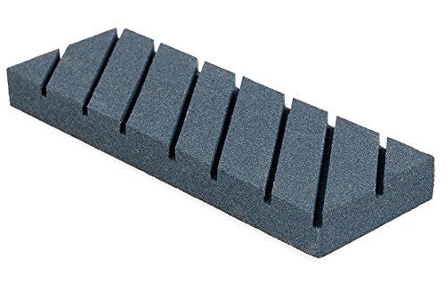 (Nordstrand Flattening Stone - Sharpening Tool for Re-Leveling Waterstone, Whetstone, Oil Stones - Coarse Grinding Lapping Plate with Grooves & Rough Grit - Flattener Fixer Sharpener for Waterstones)