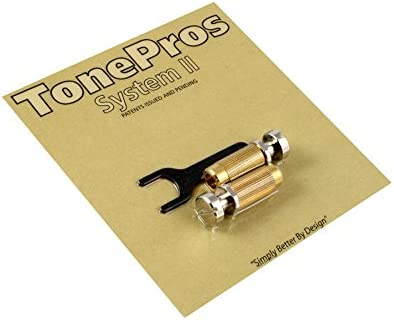 TonePros SNS1-N Studs//Anchors Stop Tailpiece Nickel Allparts TP-0456-001 2