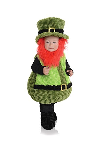 Underwraps Baby's Lil Leprechaun Belly-Babies, Green/Black/Orange, Medium (Toddler Leprechaun Costume Boy)