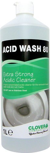 Acid Wash 80 Extra Strength Acid Cleaner BY CLOVER 502 1L