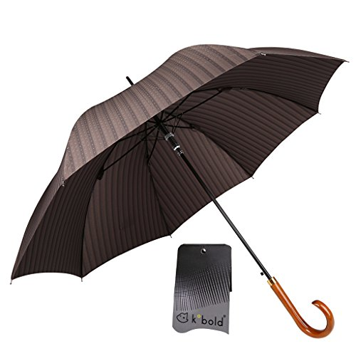 Umbrellas Ping Golf (Outdoor Stick Umbrella for Men for Rain Sun Lightweight Compact Windproof Solid Color Strips Design)