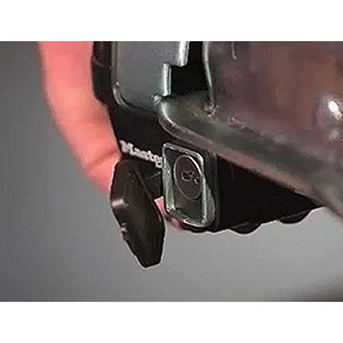 Trailer Coupler /& Receiver Lock Combo Pack Master Lock Trailer Lock 3794DAT