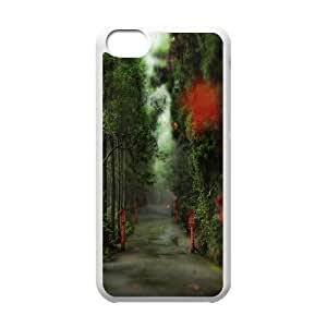 Tyquin alley in the forest iPhone 5C Case, Iphone 5C Case {White}