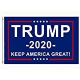 DFLIVE Donald Trump for President 2020 Keep America Great Flag 3x5 FT with Grommets
