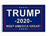 DFLIVE AFlag Donald Trump President 2020 Keep America Great Flag 3x5 Fee, Blue