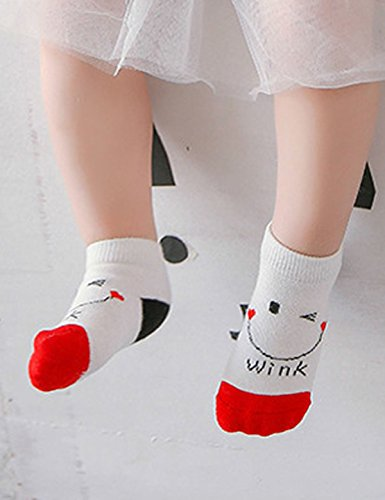 Months Cotton Baby 8 Girl a Sock Set 36 Alizeal 0 0qdvR0n