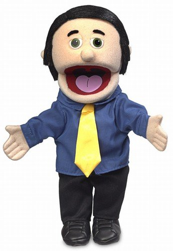 14-George-Peach-Dad-Businessman-Hand-Puppet