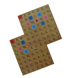 Wild and Wolf Complete Scrabble Refrigerator Game Set Fridge Magnets ABC Letter Alphabet Tiles
