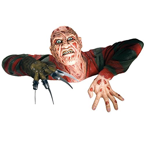Freddy Krueger Costume For Girls (Rubie's 68366 The 13th Friday Freddy Krueger Grave Walker Decoration)