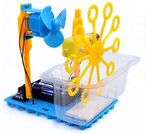 子供 おもちゃ 小さなハンマー蒸気DIYバブルブリスターロボットマシン教育キットバブルマシン バブルおもちゃ (Color : Multi-colored, Size : One size)