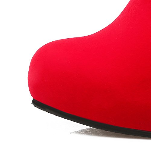 Inconnu 1To9 Chukka Femme Rouge Red, 37.5 EU, MNS01664