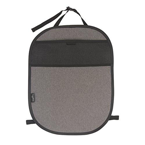 Evenflo Car Seat Kick Mat with Storage Pocket, Black