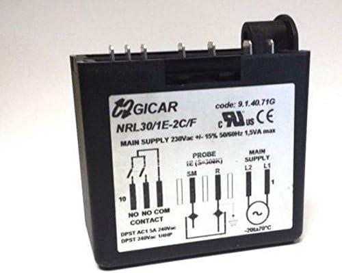 Nueva gicar nrl30/1e-2 C/F agua nivel controlador 9.1.40.71 G ...