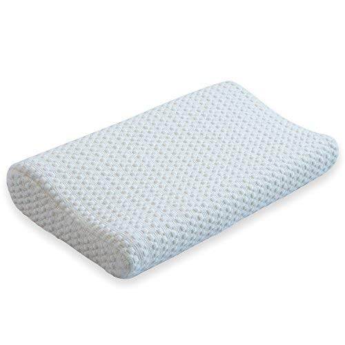 - Silqui Small Memory Foam Contour Pillow, Thin Low Profile Helps Facilitate Proper Alignment for Zen Relaxation, Multiple Uses: Neck, Back, Lumbar, Travel, Children, Toddlers, Size 15.75 x 9.25 x 2.75