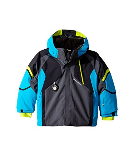 Obermeyer Kids  Baby Boy's Patrol Jacket (Toddler/Little Kids/Big Kids) Polar Blue 2T Toddler