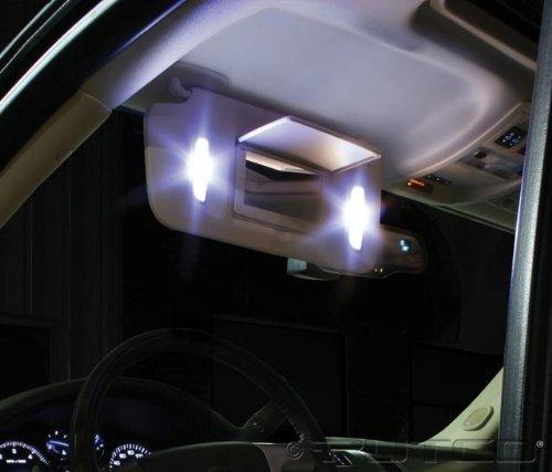GENSSI 42mm LED Bulbs Pair White 6000K 576, 578, 211-2, 212-2, 214-2 Festoon