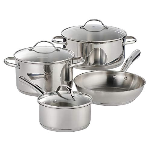 Tramontina Cookware Set Stainless Steel 7 Pc, 80154/071DS