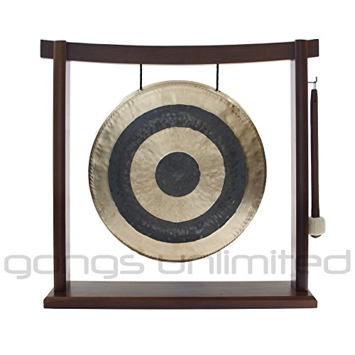 10'' to 12'' Gongs on the Woodsonic Gong Stand by Unlimited