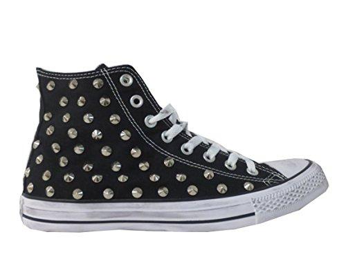 Converse Black Prodotto Borchie Calzature Nero Balzi Star All Artigianale Borchiate R0Oxxq5w