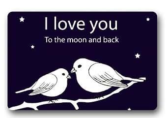 I Love You a la luna y Volver alfombrilla