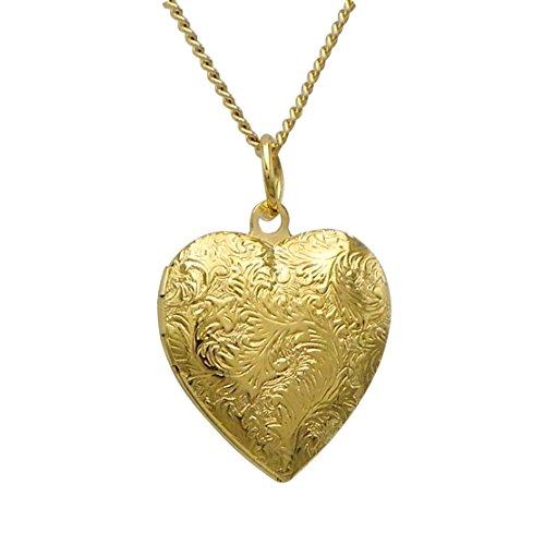 Rosemarie Collections Women's Heart Shaped Locket Pendant - Macy's My Inside