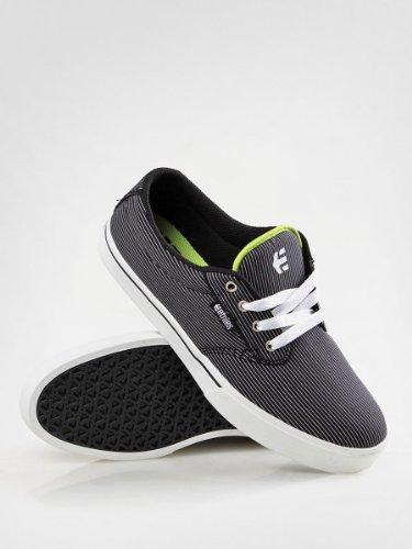 Etnies Skateboard Shoes Jameson 2 Black/White/Green