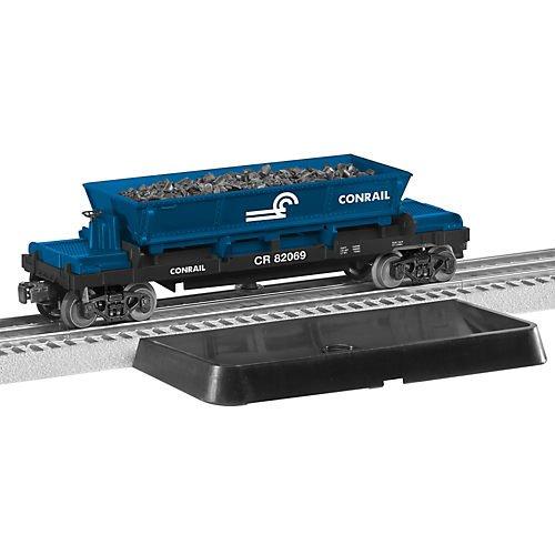 Lionel LNL682069 O-27 Operating Coal Dump Car, CR - Operating Uncoupling Track